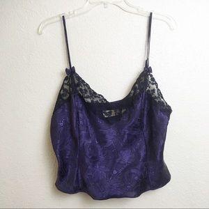 Vintage Victoria's Secret Lace Cami Lingerie Top